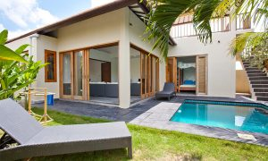 Surf WG Surfcamp Bali Private villa pool