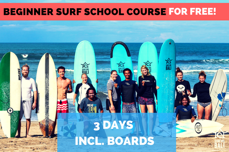 Surf WG Surfcamp Bali Anfänger-Surf-Kurs Special en
