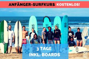 Surf WG Surfcamp Bali Anfänger-Surf-Kurs Special de