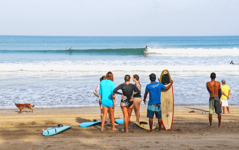 Kuta morning surf session SurfWG