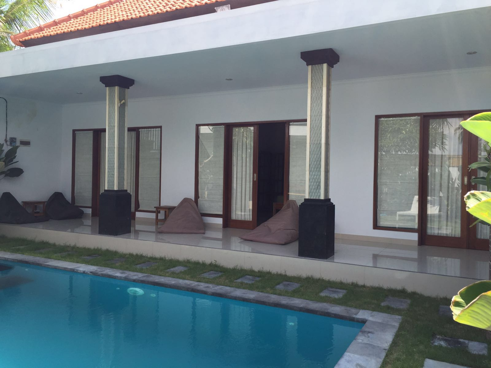 SurfWG Bali surf camp room-front of villa tuju
