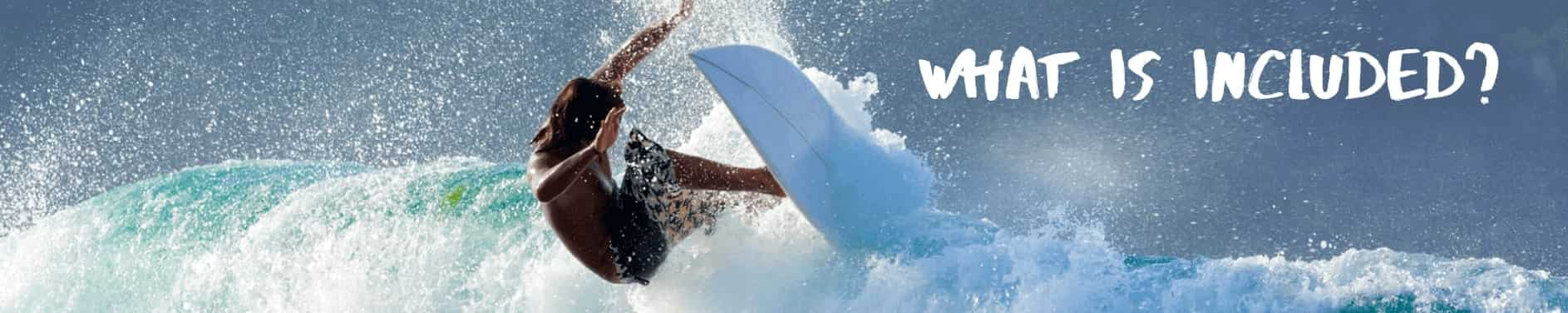 Header what is included surfer SurfWG