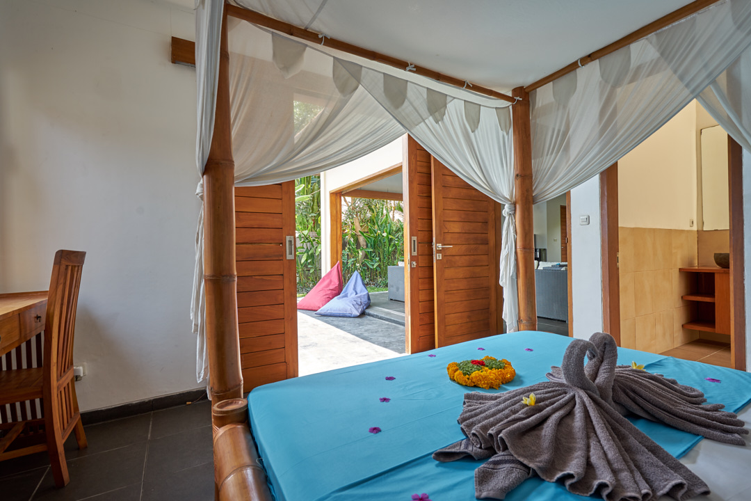 Deluxe double room SurfWG Surf camp Bali