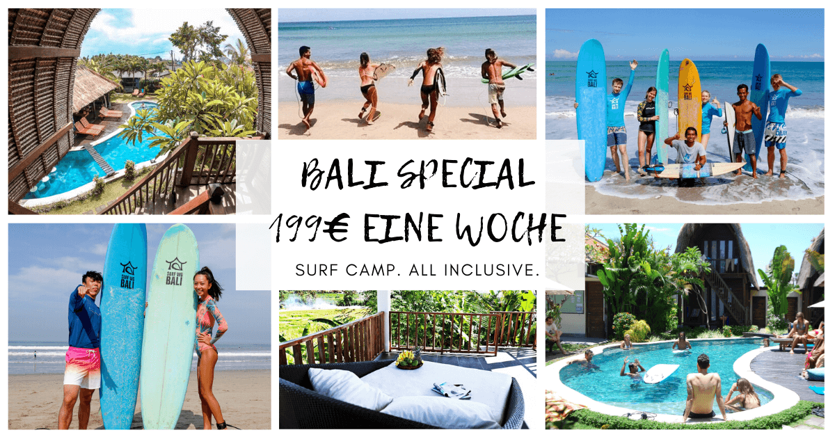 SurfWG Bali Special offer many pictures collage